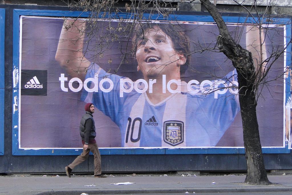 Messi Addidas
