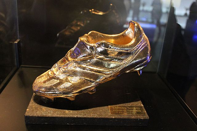 Messi golden shoe