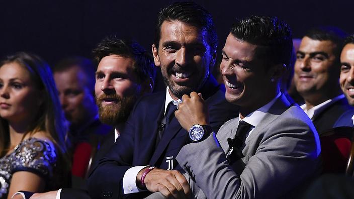 Barcelona star Lionel Messi is 'more total' than Cristiano Ronaldo, claims Gianluigi Buffon